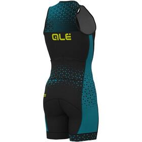 Alé Cycling Rush Tri Strój triathlonowy bez rękawów Long Mężczyźni, black-ottanio